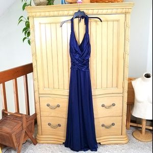 Blue Formal Dress, sz 13